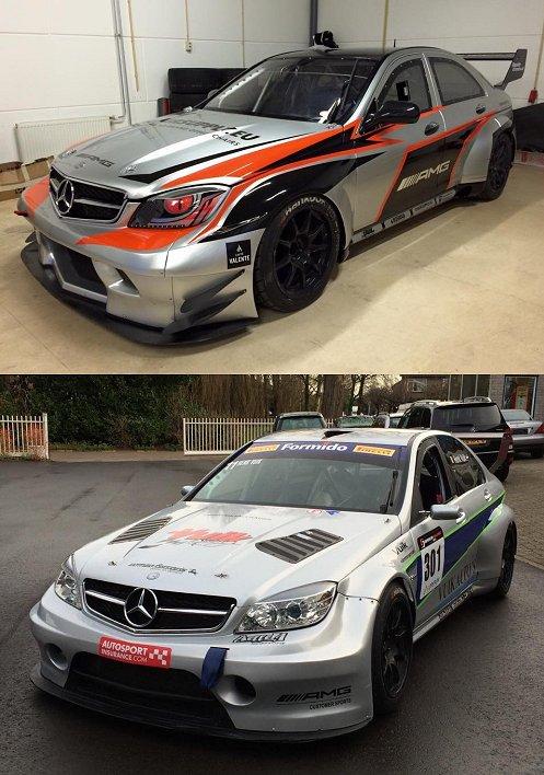 ex Superstars AMG raceauto's Bob Herber en Henk Vuik
