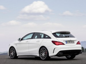 CLA 45 AMG shooting brake 2016