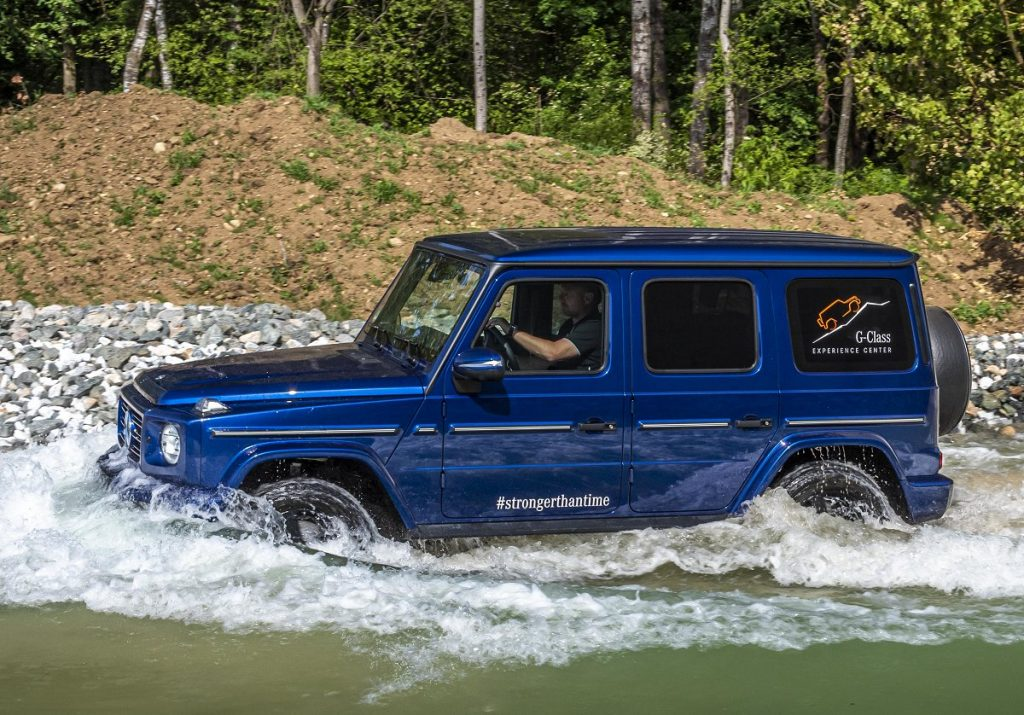 Mercedes-AMG G 63, G 350 d Stronger than time edition
